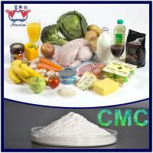 Best Food Grade Sodium Carboxymethyl Cellulose CMC / Cellulose Gum E466 wholesale