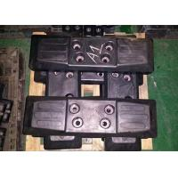 Buy cheap Protective Chain On Excavator Rubber Pads Black Color High Performance from wholesalers