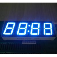 """Buy cheap Common Anode LED Clock Display Ultra Blue 0.56"""" For Oven Timer Withstand 120℃ from wholesalers"""