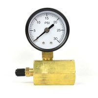 50mm 0~200psi 0~14bar Pool Filter Water Pressure Dial Hydraulic Pressure Gauge Meter Manometer for sale