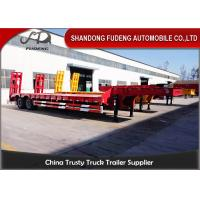 Quality 2 Axles 30 Ton Low Load Trailer Spring Suspension With Spring Ladder wholesale