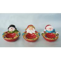 Best Attractive Acrylic Beads Ceramic Candle Holder For Ceramic Christmas Ornaments wholesale