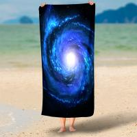 Best Rectangel Round Microfiber Swim Towel Hd 3d Print With Piping Or Tassel wholesale