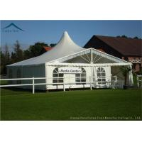 Buy cheap Luxury Custom Event Tents For Parties With Colorful Linings Flame Retardant from wholesalers