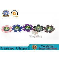 Best Professional Casino 760 Custom Deluxe Poker Chip Set With Aluminum Alloy Case wholesale