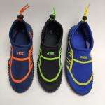 China BSCI OEM Elastic Fabric Water Aqua Shoes Non Skid for kids for sale