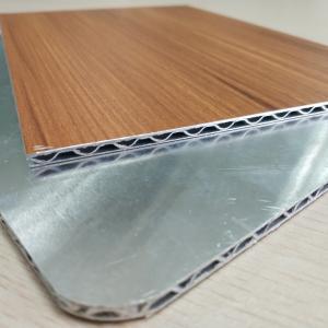 Best Wooden Marble Series PVDF Aluminum Composite Panel , Aluminium Core Panel wholesale