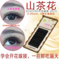 Best 3 Mix Length In One Row 3D Eyelash Extensions B Curl Lash Extensions 0.05mm wholesale