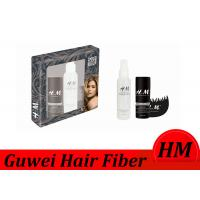 Best Flexible Instant Hair Building Fiber Brown Color With Spray Applicator wholesale