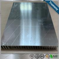 Best Surface Brushed Aluminum Honeycomb Panels For Interior Exterior Wall Decoration wholesale