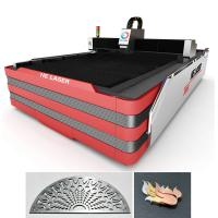 Best 700 Watt Stainless Steel Fiber Laser Cutting Machine 0.2mm - 10mm Cutting Thickness wholesale