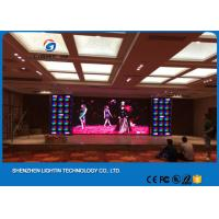 Quality Indoor Media Video Led Full Color Display Screen Wall P3 SMD2121 Energy saving wholesale