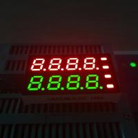 Buy cheap Customized dual colour 8 Digits 7 Segment LED Display For Temperature controller from wholesalers