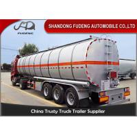 Quality 42000 L fuel tanker semi truck trailer for diesel oil delivery wholesale