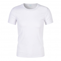 Best China Wholesale Classic Round Neck For Men Cotton T-Shirt Polyester Blank White Color Plain T Shirts wholesale
