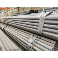 Best Hot Rolled Black Steel Tube , Pure Zinc Layer Circular Hollow Section wholesale