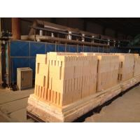 Quality 65% High Alumina Refractory Brick Anti Stripng Thermal Insulating For Glass Kiln wholesale
