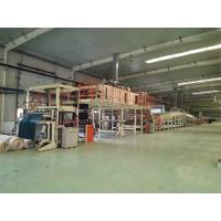 Best 220cm Adjustable PVC Carpet Tiles Backing Production Line Including Cutter wholesale