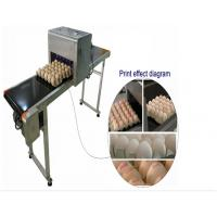 Best Automatic Single Row Egg Printing Machine With Small Solvent Printer wholesale