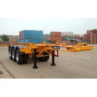 Best Flatbed Shipping Container Delivery Trailer High Efficiency For Port Transport wholesale