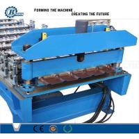 Best Galvanized Steel Roof Panel Roll Forming Machine Hydraulic System For Automotive wholesale