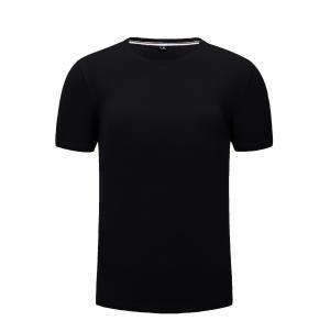 Best Breathable 160gsm Gym Sport T Shirt Anti Shrink wholesale
