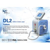Buy cheap Super Cooling Germany Bars Portable 808nm Diode Laser Body Hair Removal Machine from wholesalers