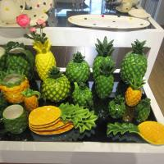Best Pineapple Shaped Ceramic Cookie Jar Canister Fashion Handmade Decor 11.3 X 11.3 X 21.6 Cm wholesale