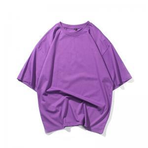 Best Anti Shrink SGS Plain Cotton T Shirts wholesale