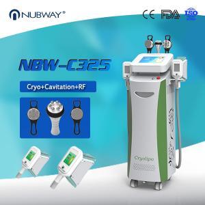 Best Beauty Equipments Cavitaion RF Weight Loss Fat Freezing Cryolipolysis slimming machine wholesale