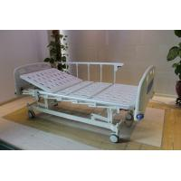 Best Height Adjustable Central Locking Three Motors Medical Hospital Bed with Bumpers wholesale