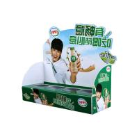 Cheap customized pvc display stand rectangle counter box clear food for sale