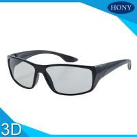 Quality PC Plastic Polarized Circular Passive 3D Glasses For Movies wholesale
