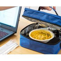 Buy cheap Low Consumption Electric Lunch Box Blue For Cooking / Heating Meals from wholesalers