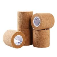China Medical First Aid Elastic Self Adhesive Bandage Gauze Tape/Elastic Bandage/adhesive tape for sale
