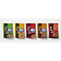 Food Grade Recyclable Plastic Stand Up Pouches With Zipper For Condiment for sale