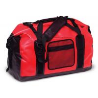 Best 65L Red Tarpaulin Waterproof Duffel Bag 1.3KG Weight For Cycling And Hiking wholesale