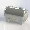 Sanitary Milk Transportation Tank 5000L Dairy Chiller for sale