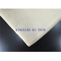 Quality Satin Weaving Fireproof Fiberglass Fabric , Heat Proof Insulation Material wholesale
