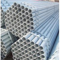 Best Smooth Surface Hot Dipped Galvanized Pipe , Anti Moisture Round Mechanical Tubing wholesale