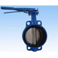 Best Double Flanged Butterfly Valve , DN40 - DN600 Wafer And Lug Style Butterfly Valve wholesale