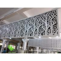 Best hollow pattern 3mm aluminum cladding panel with powder coated for facade curtain wall solid panel single panel wholesale