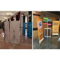 China Banner Poster Sand Roll Up Banner Stand , Foldable X Frame Banner Stand on sale
