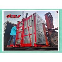 Best Stable Performance Rack And Pinion Elevator Double Cabin For Man Material Lifting wholesale