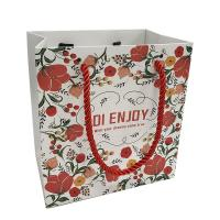 Buy cheap Luxury Custom Own Logo Printed Retail Clothing Packaging Paper Bag Shopping from wholesalers