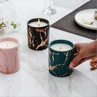 Best Home Decoration Scented Soy Candles Natural Scented Candles Marble Candle Jar With Lids wholesale