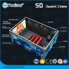 Best Dynamic Multi Dimensional 5D Cinema Equipment Lighting / Smoke / Aroma Effects wholesale