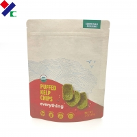 China Eco-Friendly Corn Starch Pouch Pla Bio Degradable Plastic Packaging Bag For Food for sale
