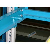 Quality Plastic Rollers Carton Flow Rack / Dynamic Gravity Flow Racking For Shoe Makers wholesale