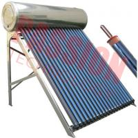 Best High Pressure Roof Mounted Solar Water Heater With Electric Backup 200L Capacity wholesale